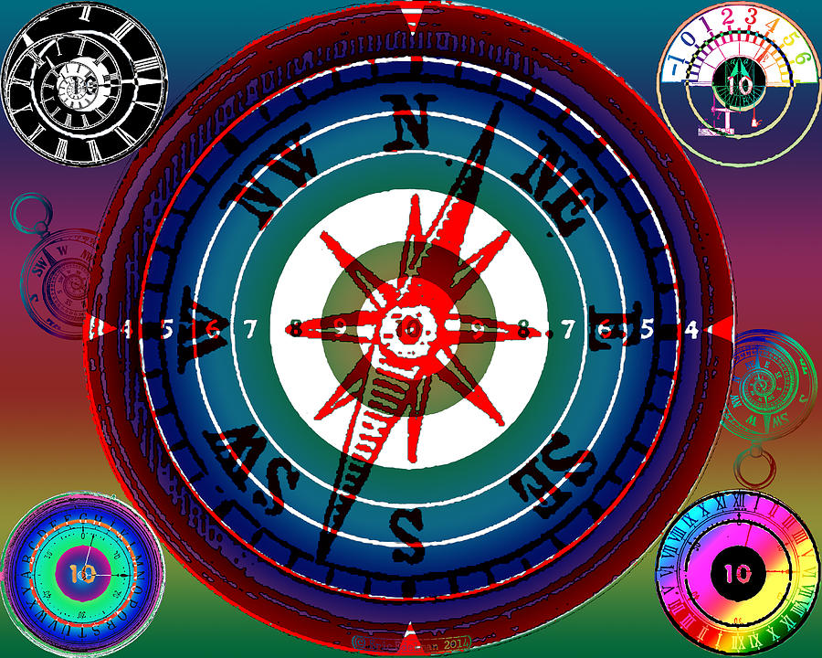 Hidden Dials Digital Art