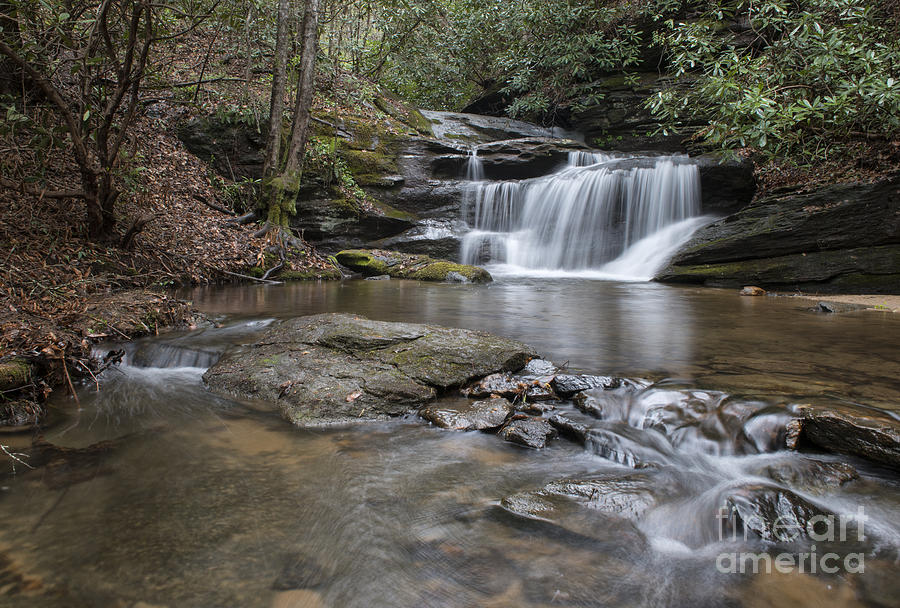 Hidden Falls by Louise St Romain