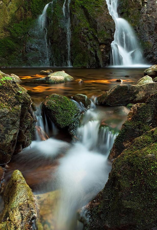 Waterfalls Photograph - Hidden Falls by Matt Dobson
