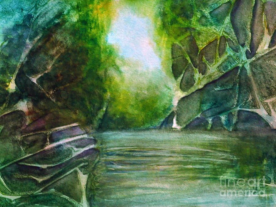 Hidden Green Painting