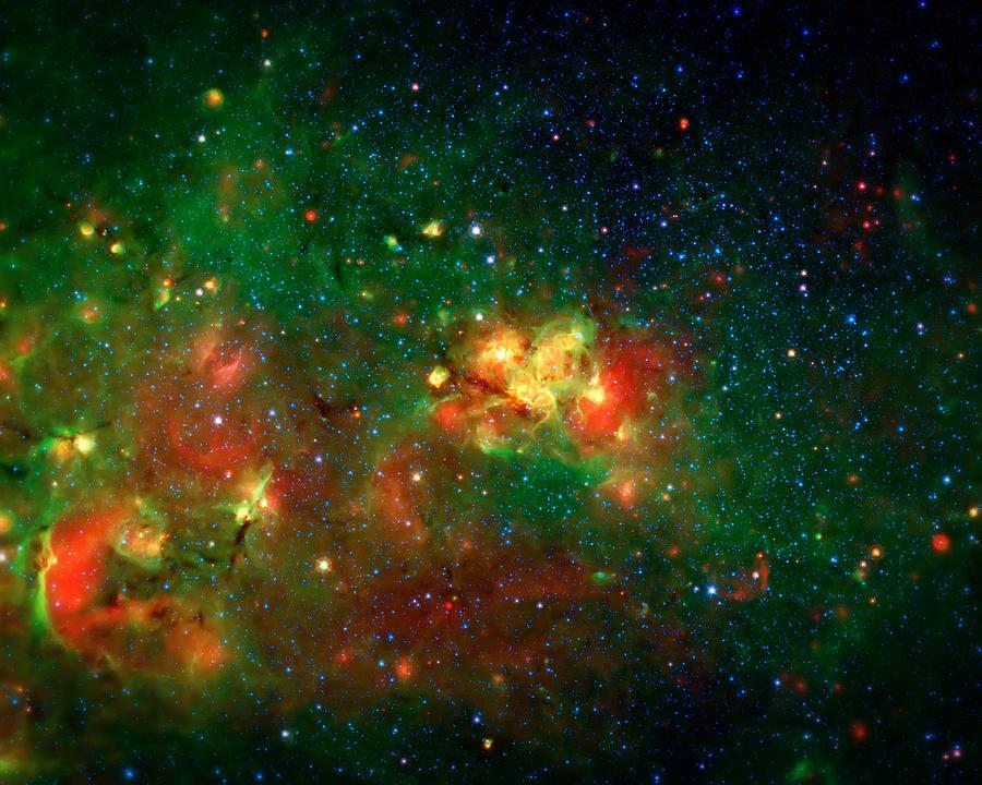 Universe Photograph - Hidden Nebula by Jennifer Rondinelli Reilly - Fine Art Photography