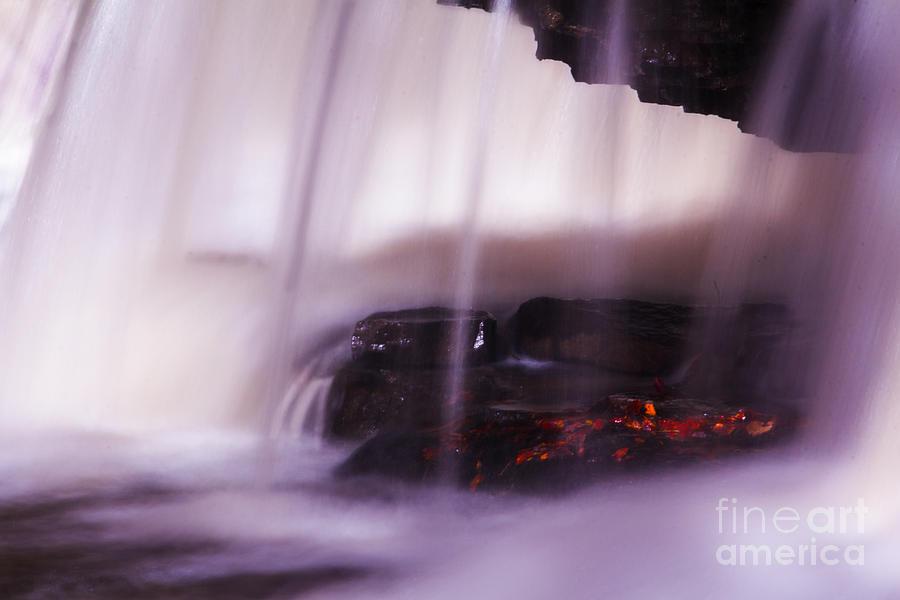Waterfall Photograph - Hidden Treasure by Melissa Petrey