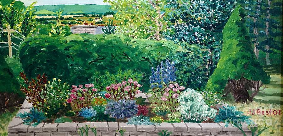 Hidden view Blomidon Terrace by Janice Best