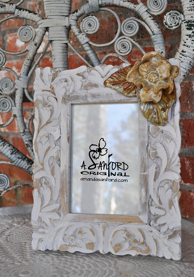 Photo Frame Sculpture - Hide And Chic by Amanda  Sanford