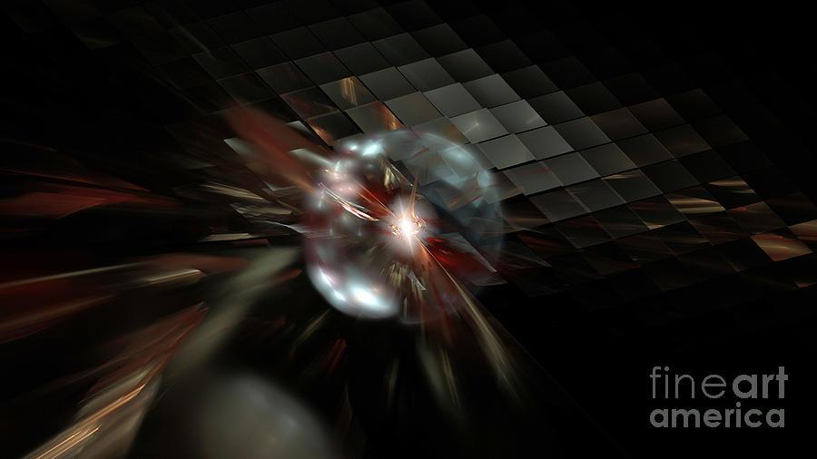 Nicholls Digital Art - Higgs Boson by Peter R Nicholls