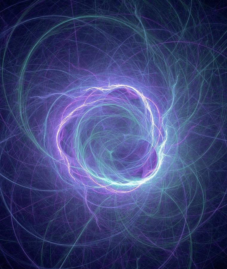 Mass Photograph - Higgs Field by David Parker