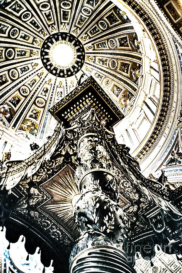 High Photograph - High Altar And Dome by Kim Lessel