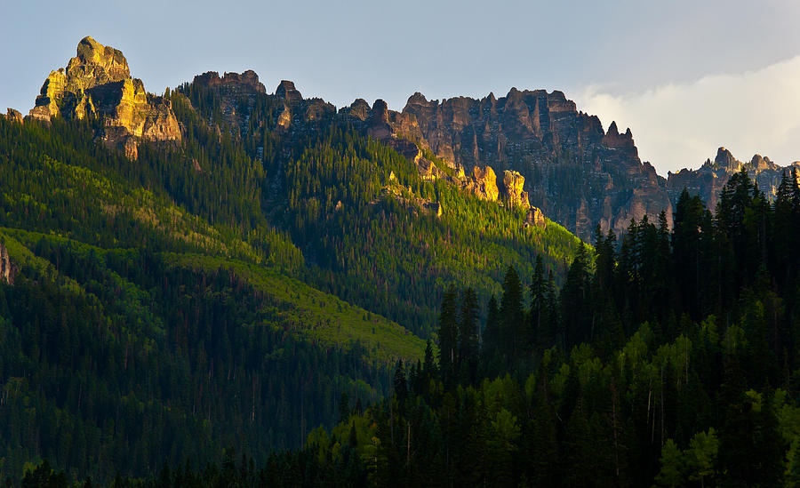 Mountains Photograph - High And Mighty by Mike  Bennett