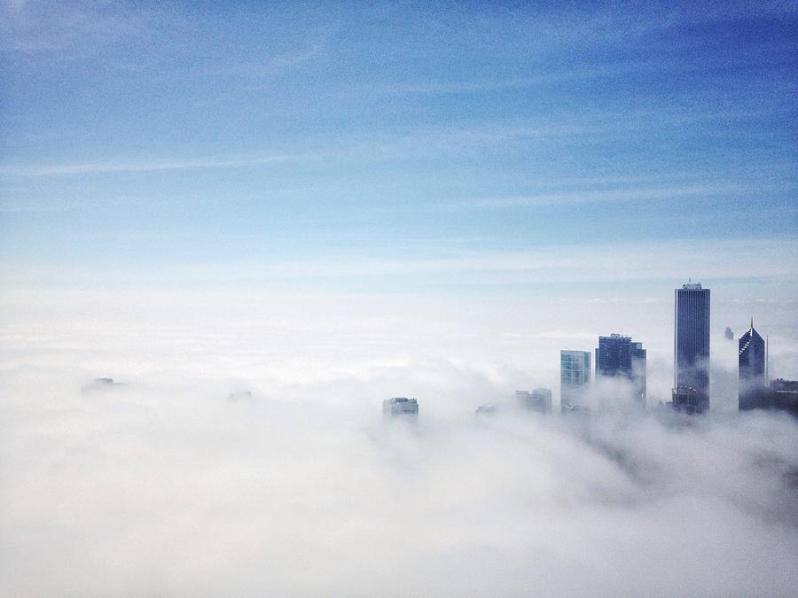 High Angle View Of A City Photograph by Kweku Bentum / Eyeem