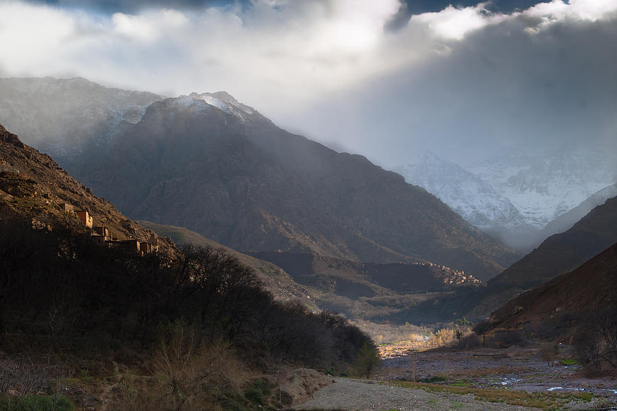 2010 Photograph - High Atlas Mountains by Daniel Kocian
