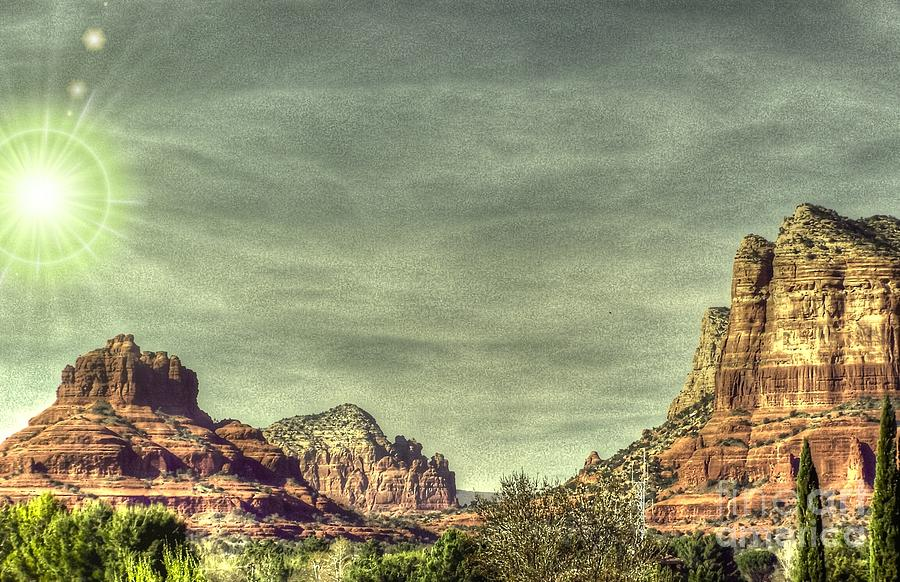 Sandstone Photograph - High Country by Dan Stone