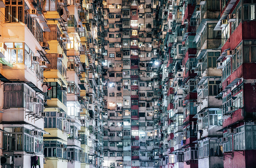 Chinese Culture Photograph - High Density Living by Visualspace