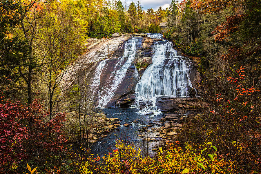 Nc Photograph - High Falls by John Haldane