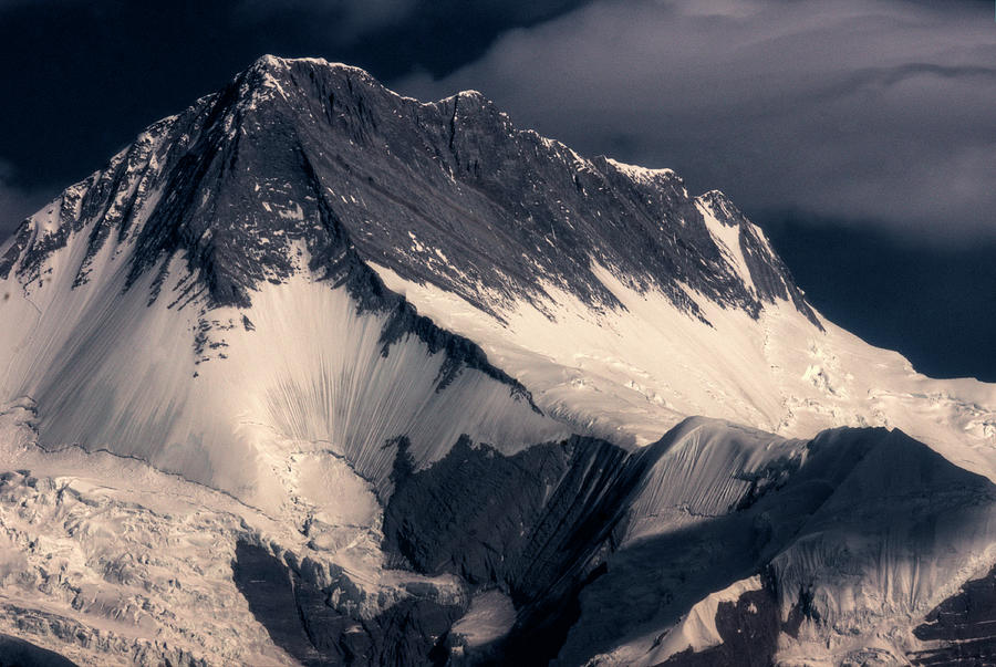 High Himalayas Peak Close Up Photograph by Mariusz Kluzniak