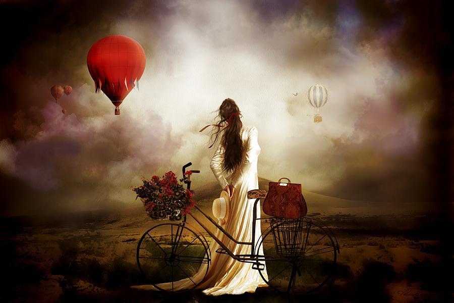 High Hopes Balloon Painting - High Hopes by Shanina Conway