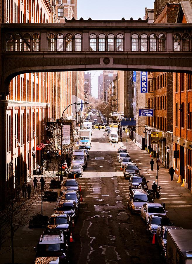 High Line Pyrography - High Line New York by Alberto Lama