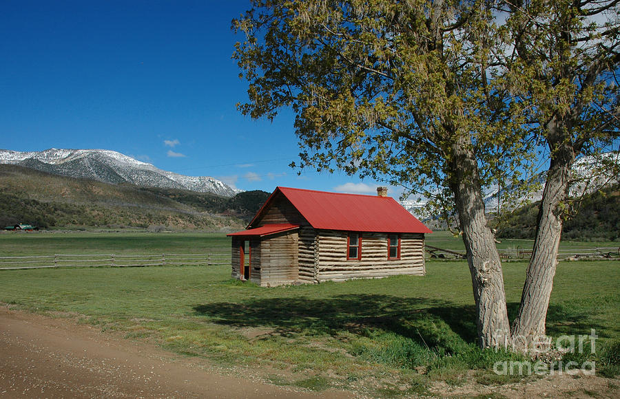 Colorado Photograph - High Lonesome Ranch by Jerry McElroy