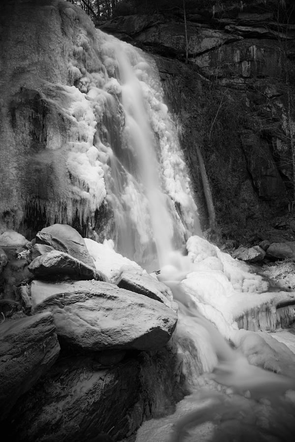 High Shoals Falls in Ice by Mark Steven Houser
