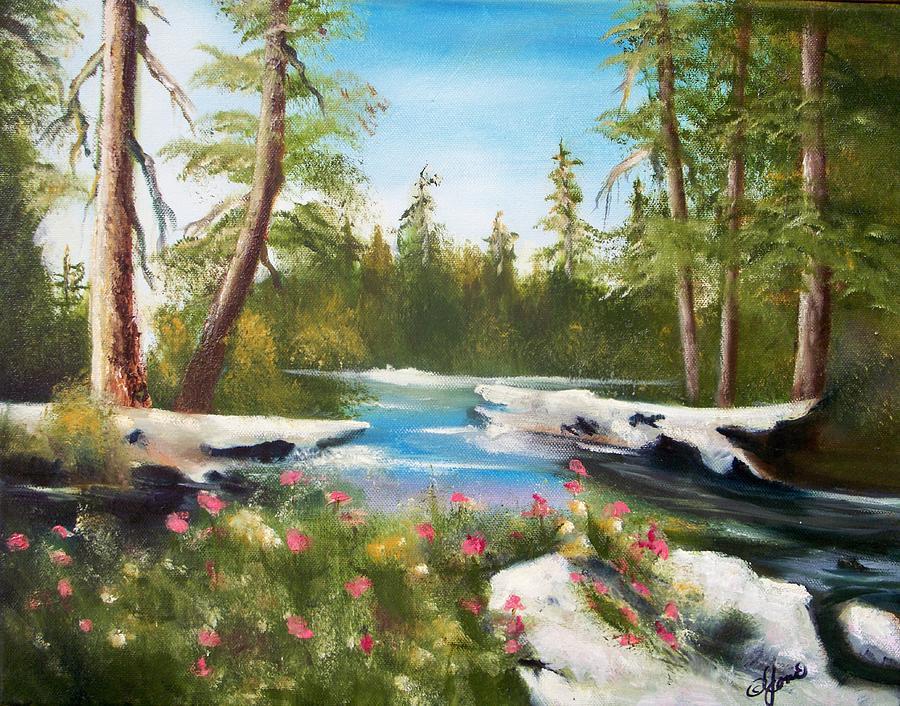High Sierra Stream by Joni McPherson