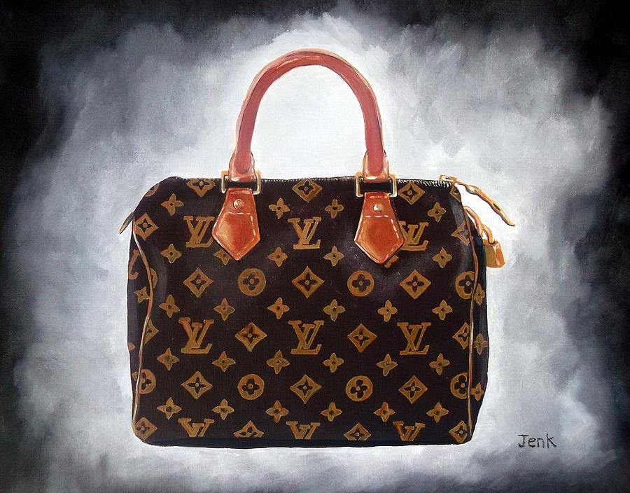 Louis Vuitton Painting - High Society by My Inspiration