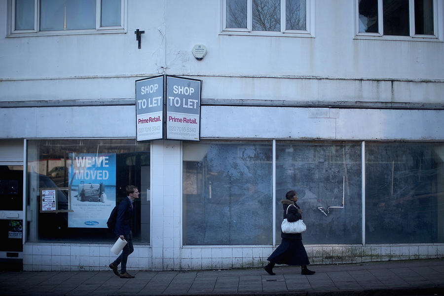 High Street Shops Occupancy Figures Demonstrates North South Prosperity Divide Photograph by Christopher Furlong