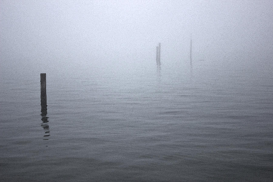 Edmond Photograph - High Tide Sentinels by Stephen Prestek