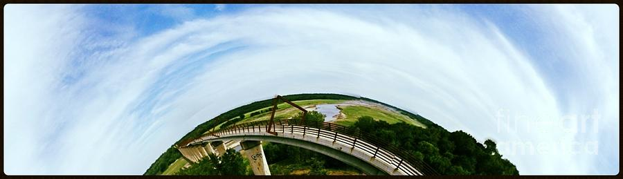 Panoramic Photograph - High Trestle Bridge by Garren Zanker