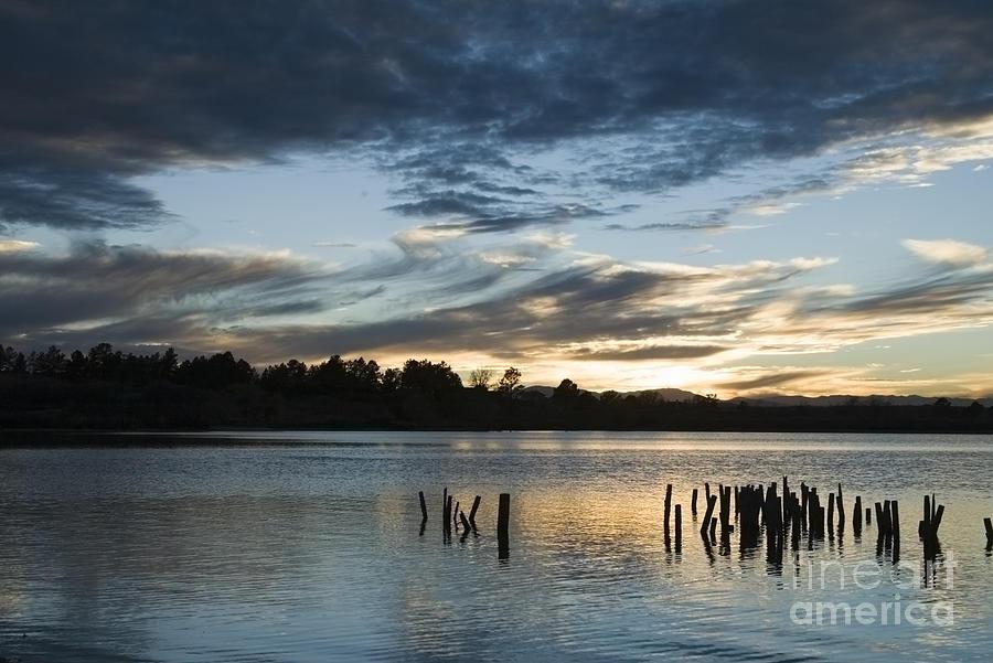 High Water Sunset Photograph