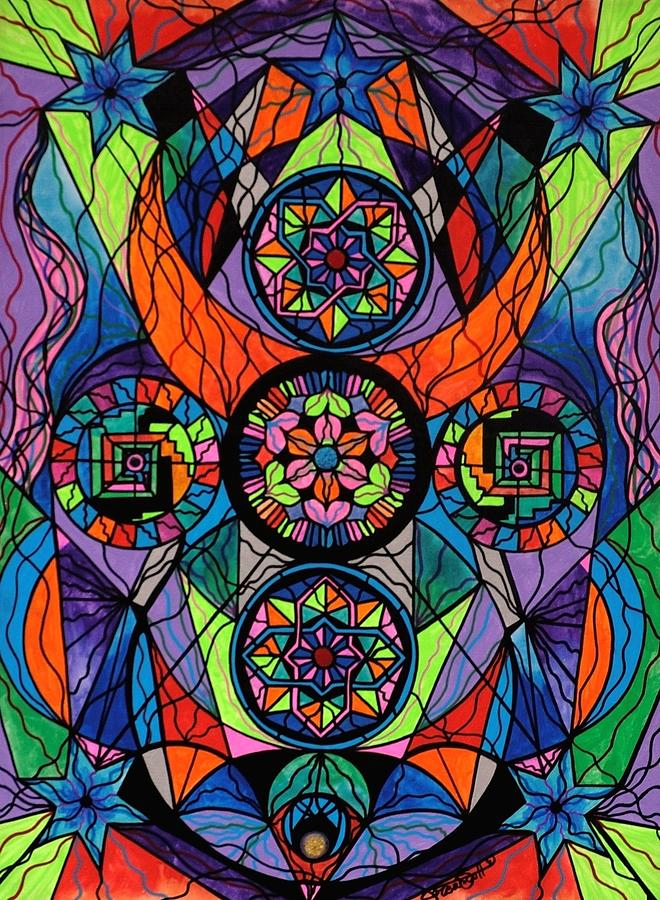 Higher Purpose Painting - Higher Purpose by Teal Eye Print Store
