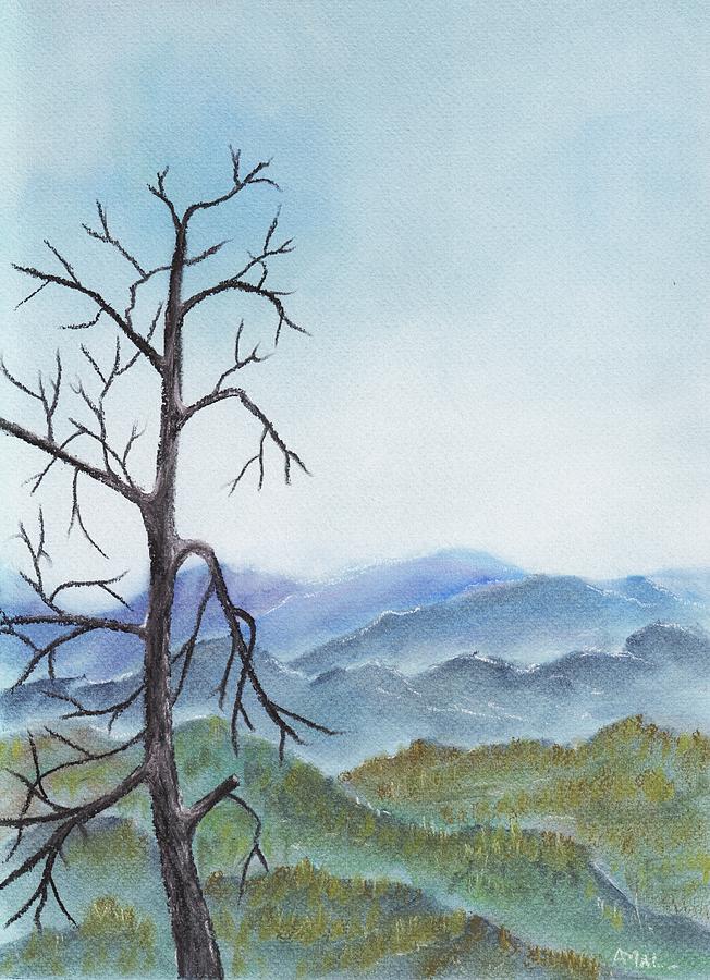 Highland Painting - Highland by Anastasiya Malakhova