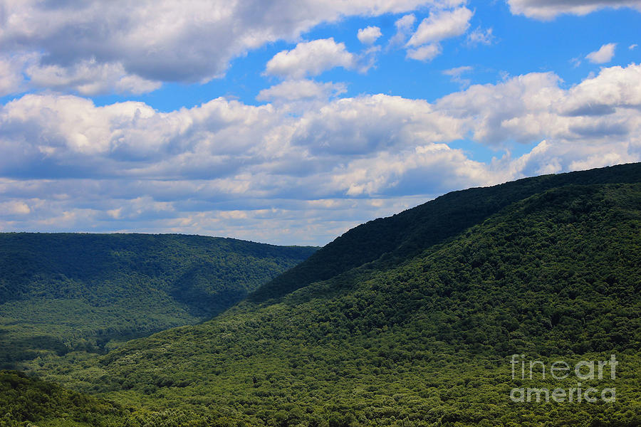 Laurel Highlands Photograph - Highland Peace And Serenity by Rachel Cohen