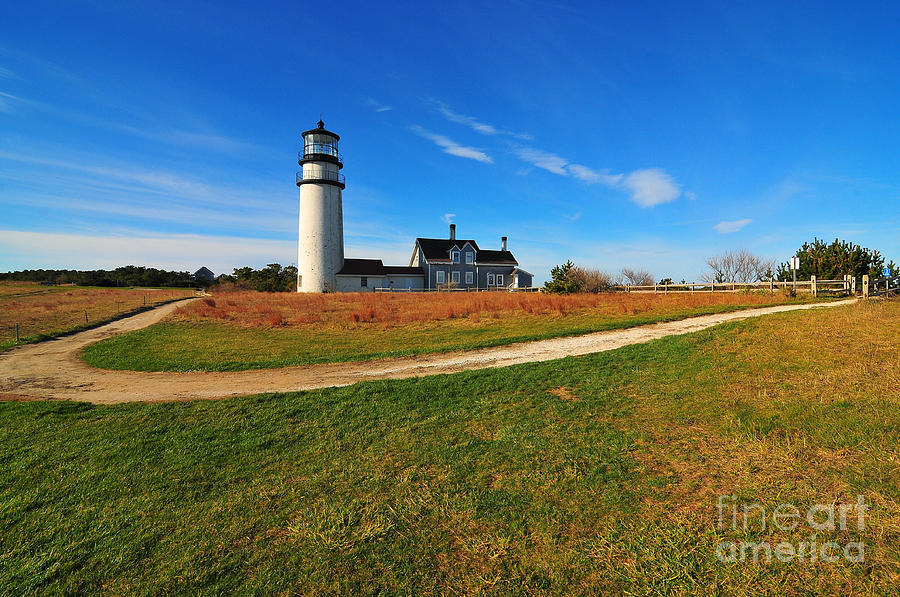 Cape Cod Photograph - Highland Point Light by Catherine Reusch Daley