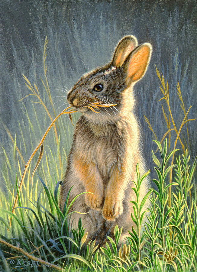 Wildlife Painting - Highly Selective by Paul Krapf