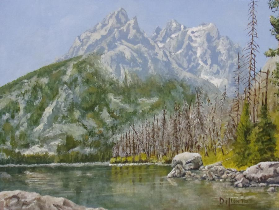 Landscape Painting - Highwater Pines by Michael Dillon