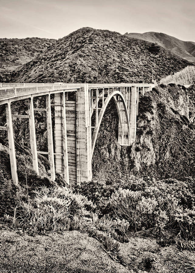 Bixby Photograph - Highway 1 by Heather Applegate