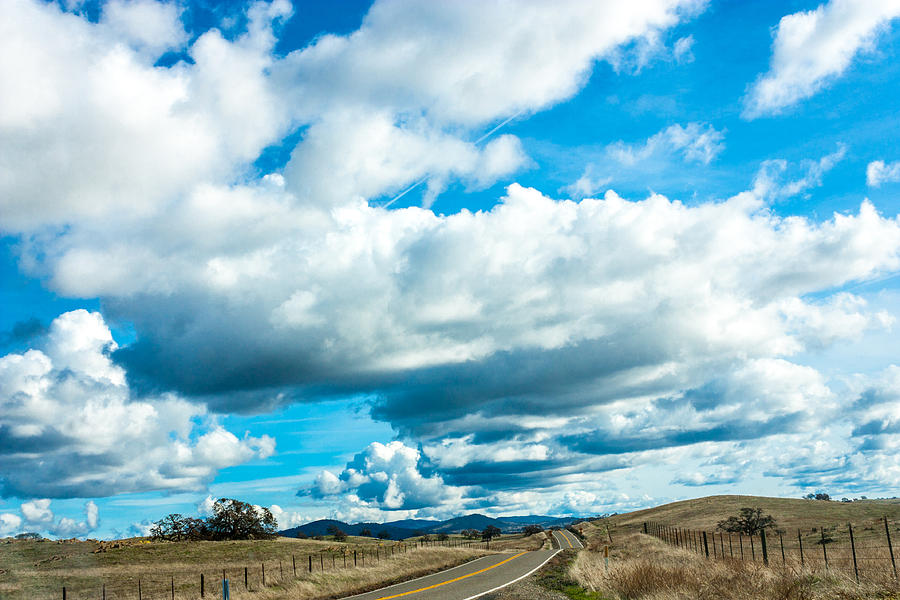 Highway 132 Photograph - Highway 132 by John Crowe
