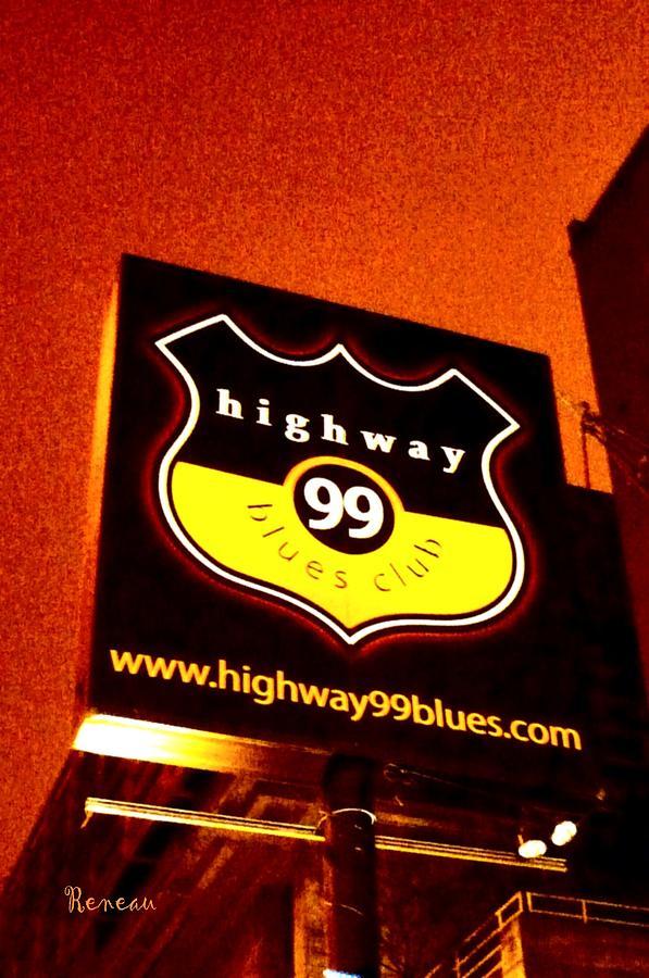Highway 99 Blues Club Sign Seattle Wa Photograph By Sadie Reneau
