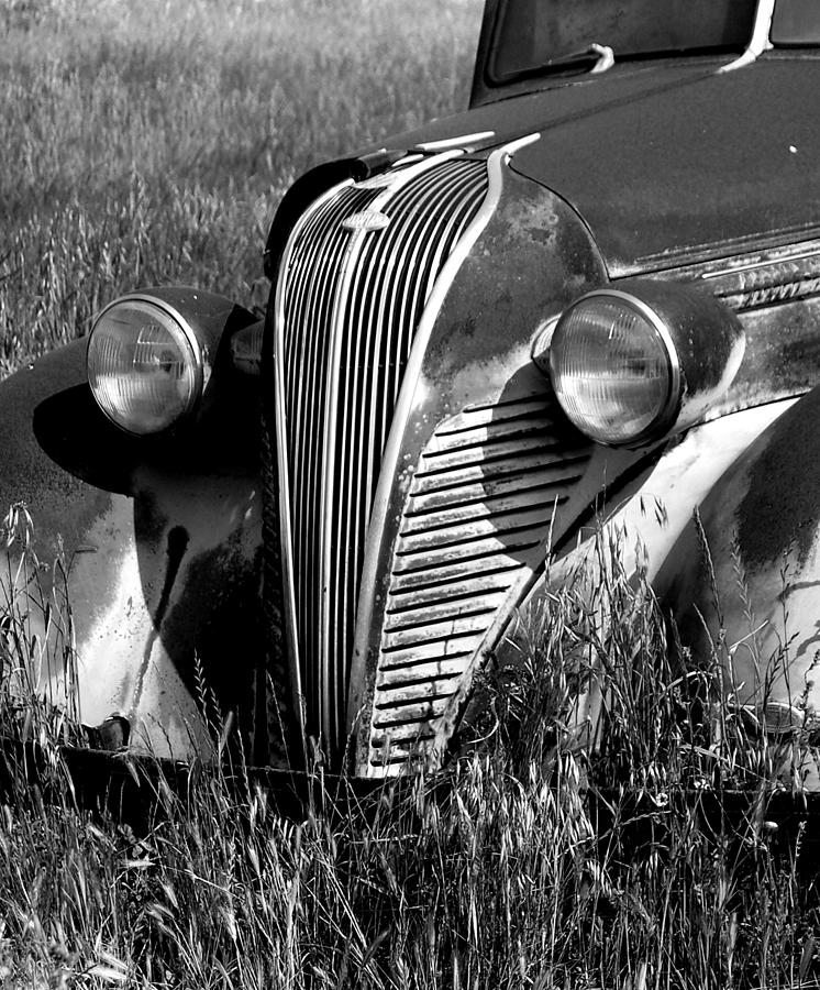 Vintage Car Photograph - Highway Find by Gabe Arroyo