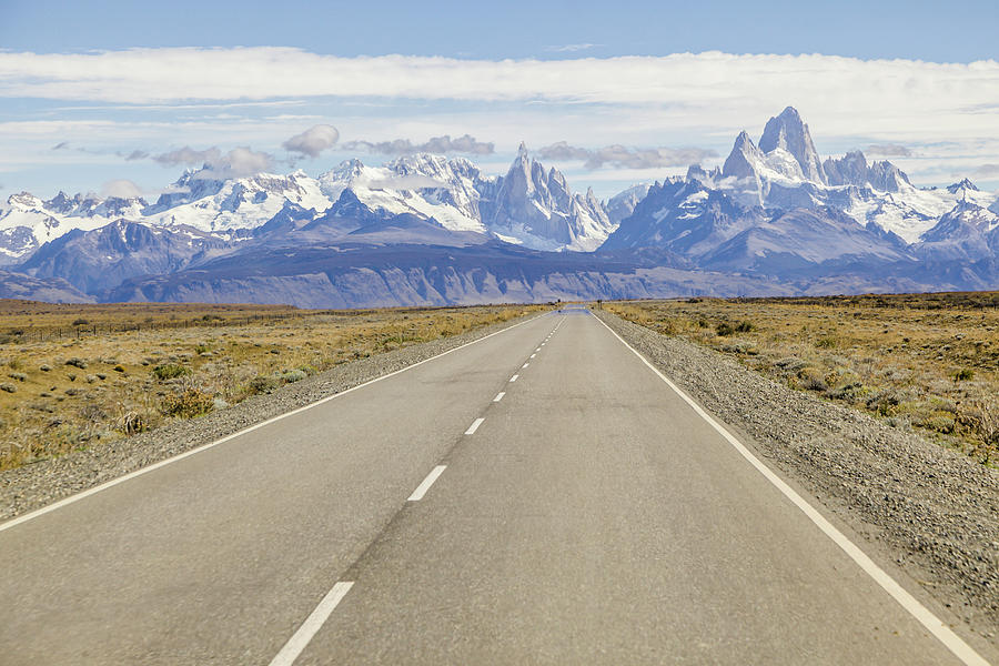 Highway In Patagonia Photograph by David Madison