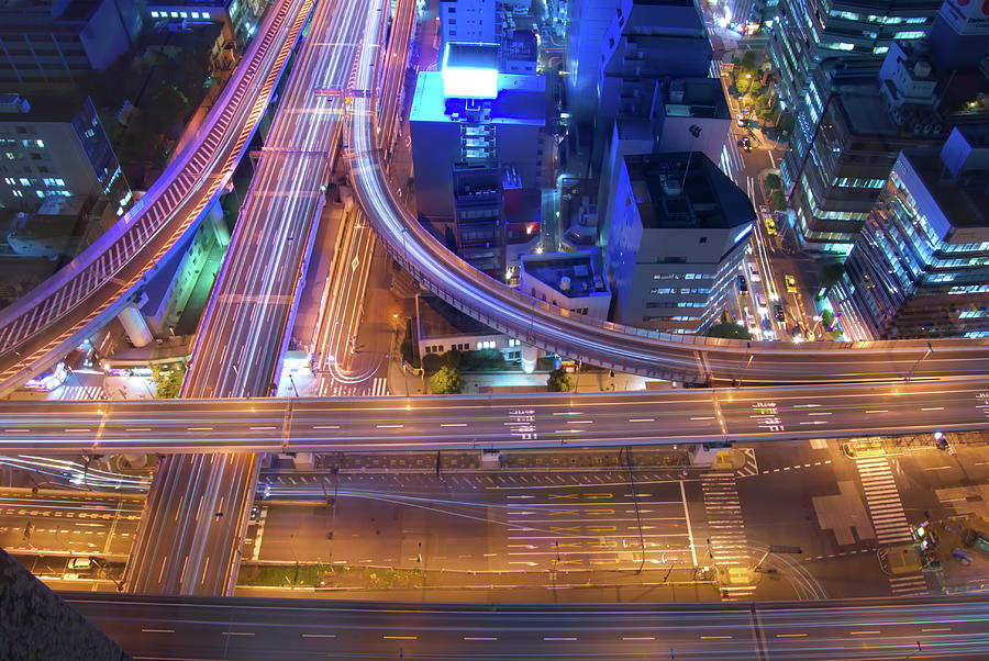 Highway Junction Photograph by Tatsuya Anonymous