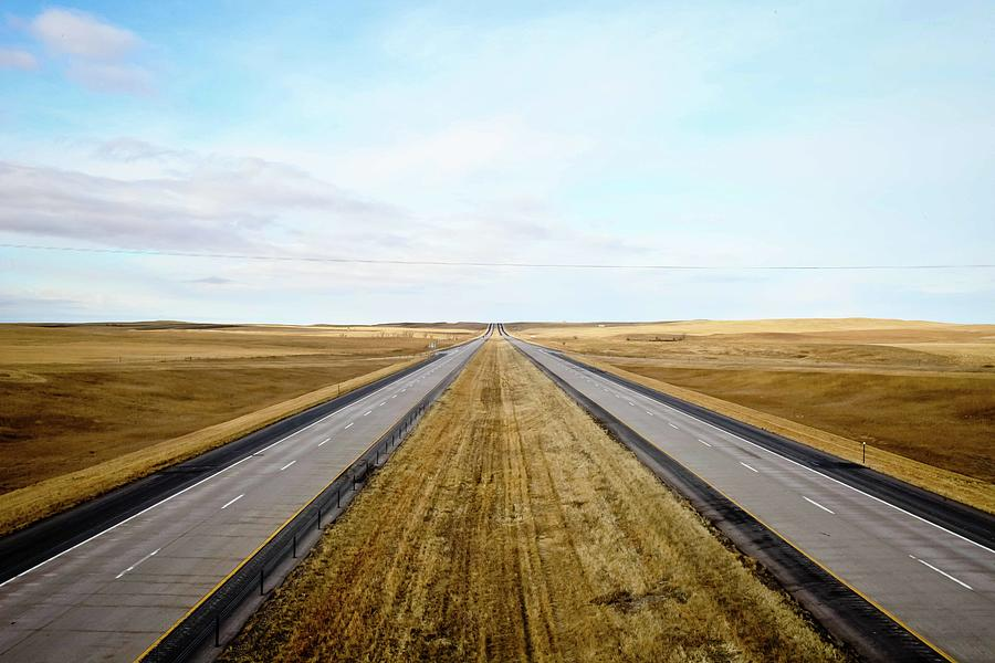 Highway Photograph by Kyle Reid