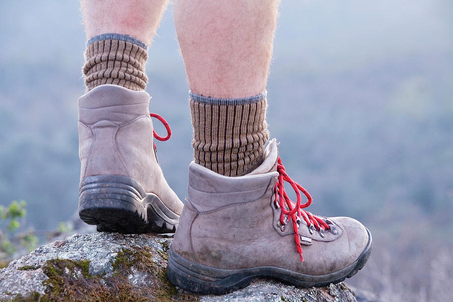a90c3a04f17 Hiking Boots Of Man In California by Justin Bailie