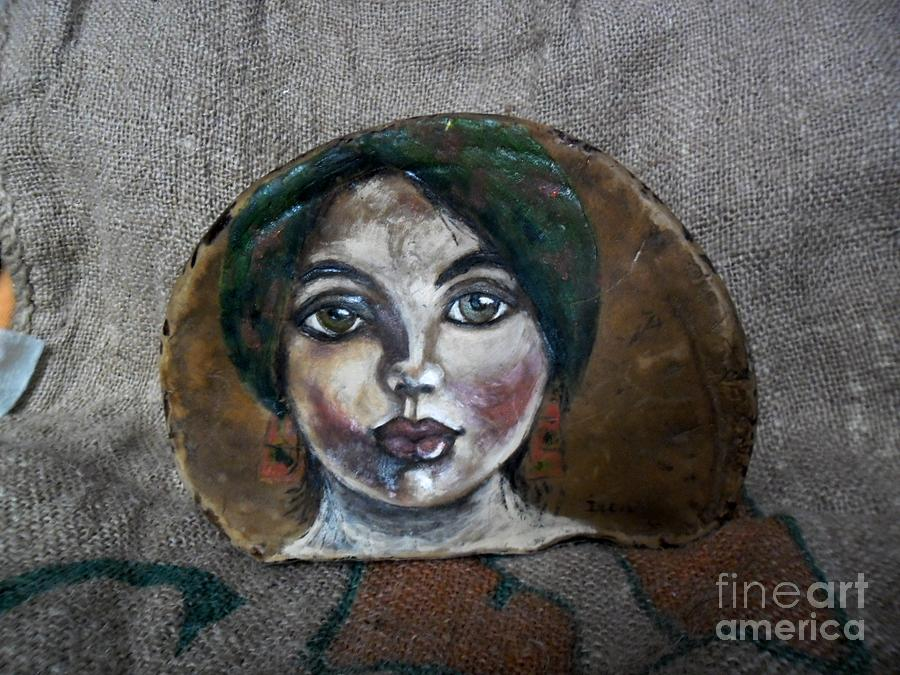 Original Painting - Hilda by Ildiko Decsei