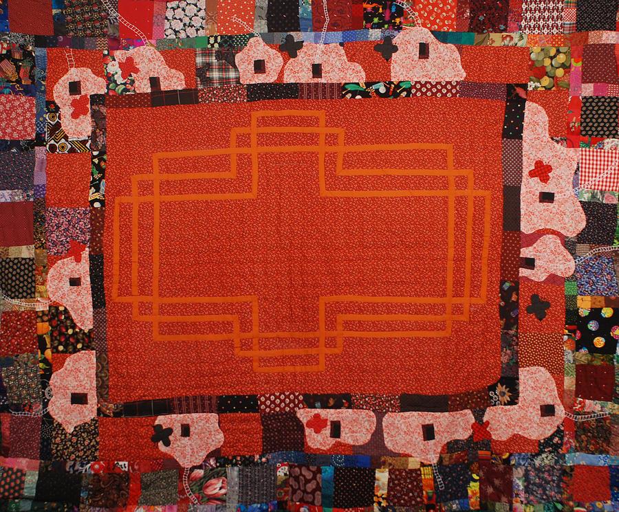 Hildegard Tapestry - Textile by Nancy Mauerman