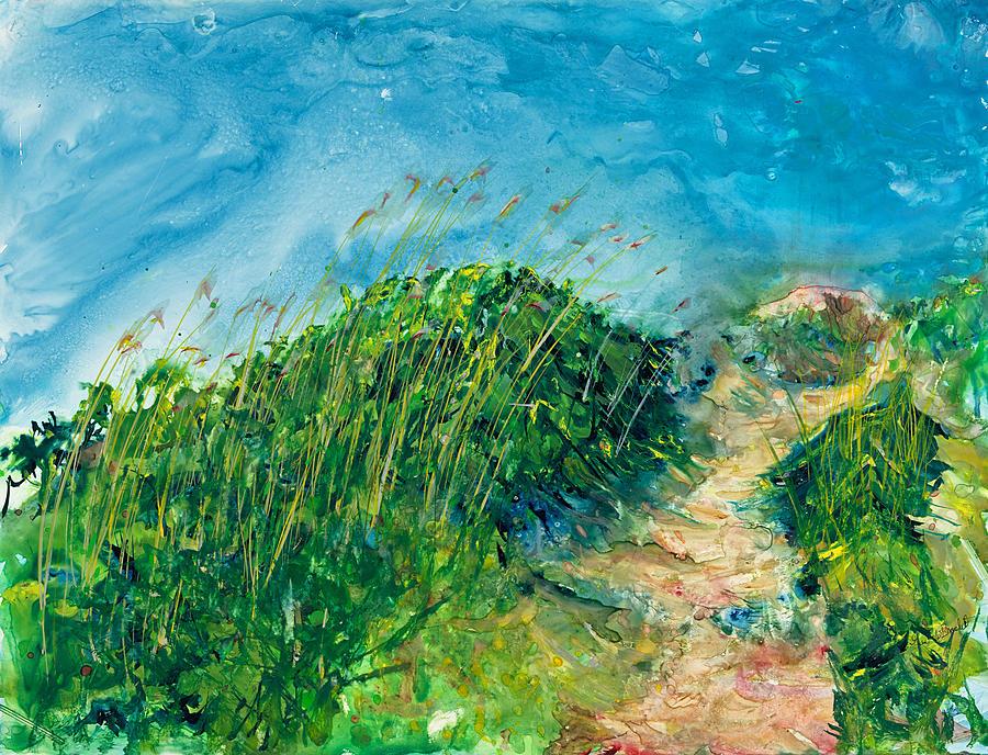 Hill at the Beach by Gary Debroekert