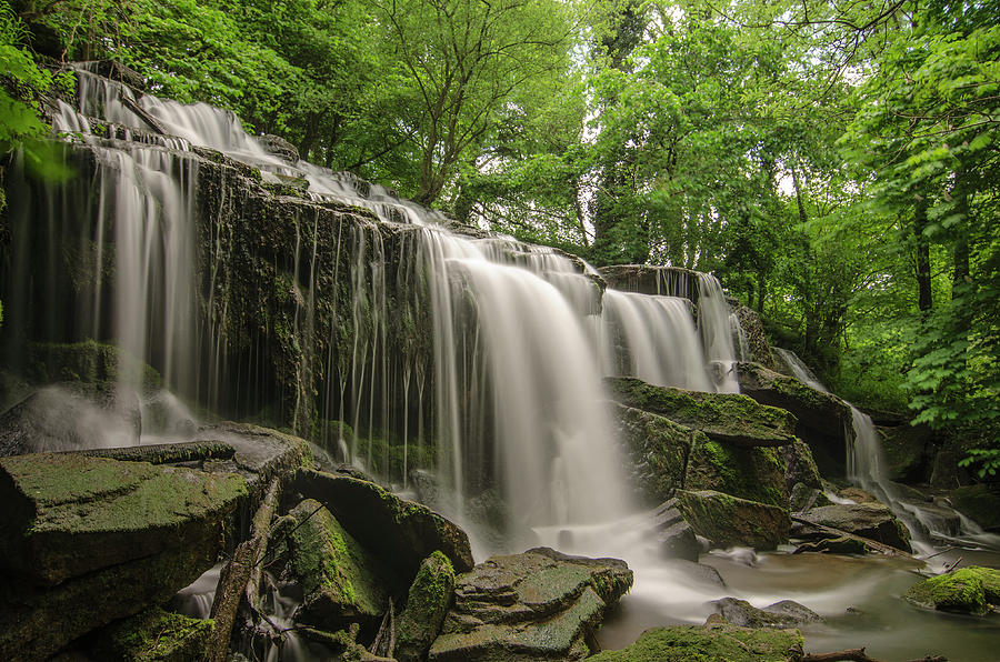 Hill Hole Falls Photograph by Photography By Jed Langdon
