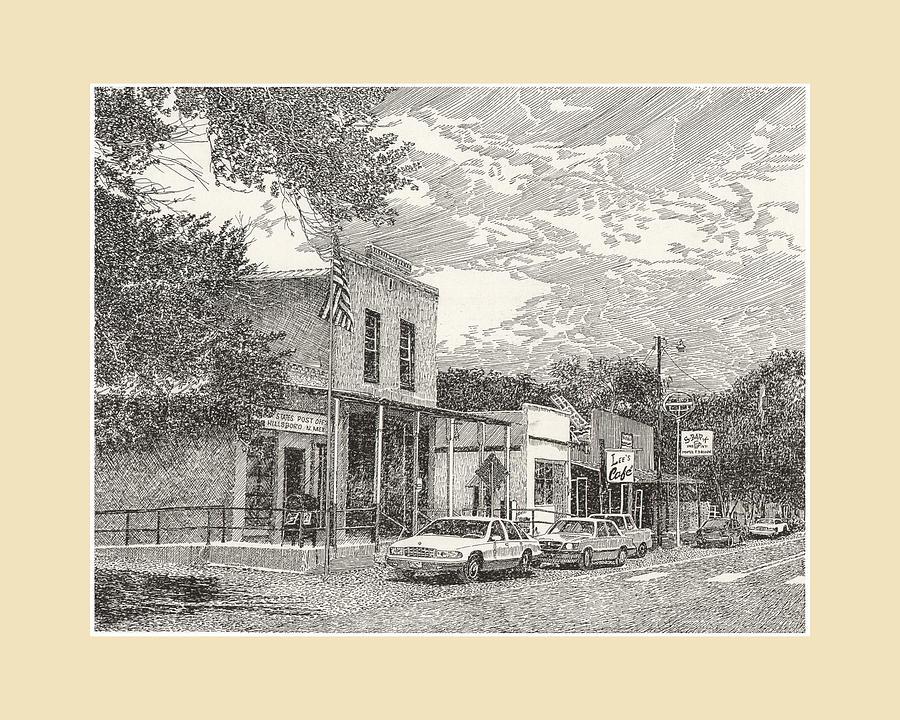 Hillsboro N M by Jack Pumphrey
