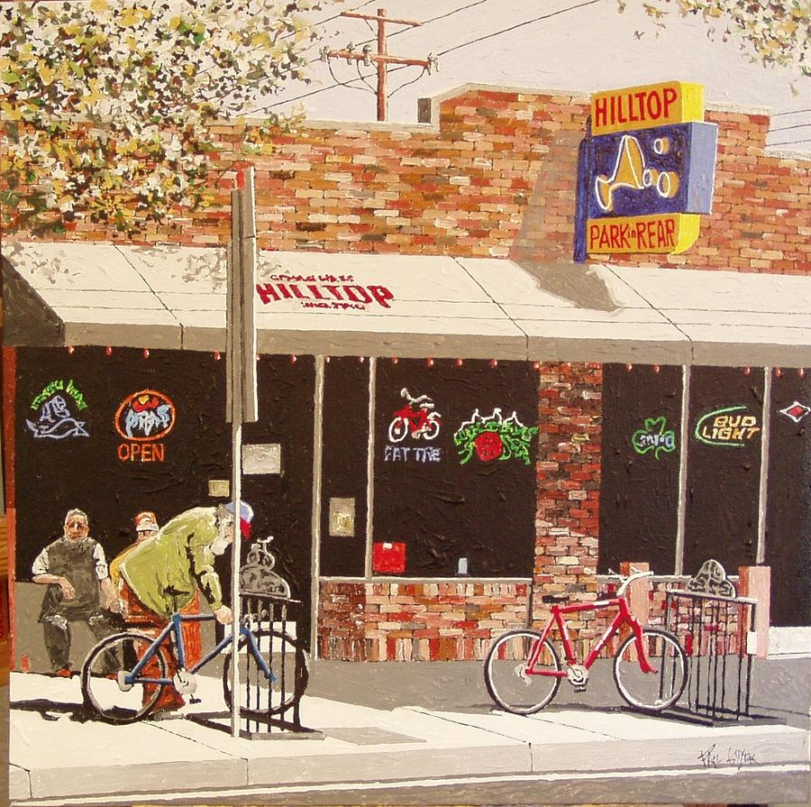 Sacramento Painting - Hilltop East Sac by Paul Guyer