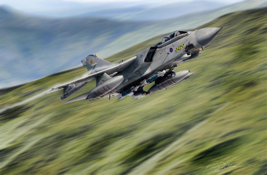 Aviation Digital Art - Hilltop Tornado by Peter Chilelli