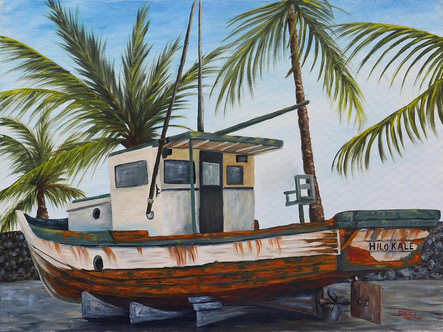 Hawaii Painting - Hilo Kale by Darice Machel McGuire